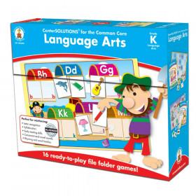 Language Arts File Folder Game, Grade K