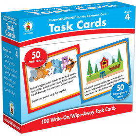 Task Cards Learning Cards, Grade 4