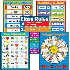 General Classroom Chart Set