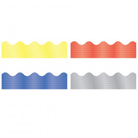Sparkle Border Set: Yellow, Red, Blue, Silver