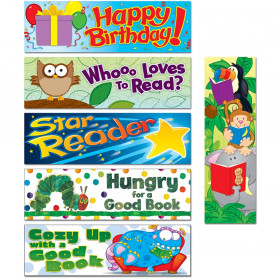 Bookmarks Set Of All 6 Designs