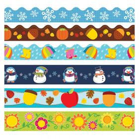 Seasonal Border Set, 6 Assorted Packs