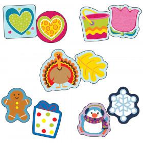 Seasonal Assorted Mini Cutouts Set