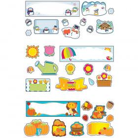 Seasonal Mini Bulletin Board Set