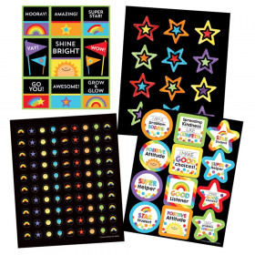 Celebrate Learning Sticker Variety Set, 1170 Pieces