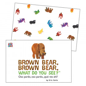 Brown Bear, Brown Bear, What Do You See? Learning Cards