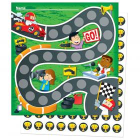 Racing Mini Incentive Charts & Stickers