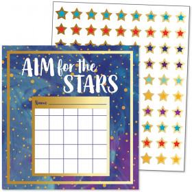 Galaxy Mini Incentive Charts, Pack of 30