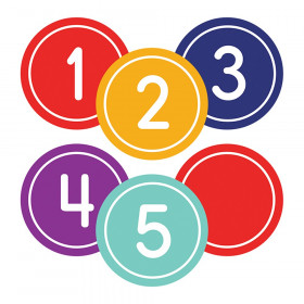 Classic Numbers Magnetic Cut-Outs, Pack of 36