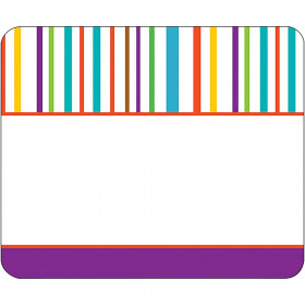 Calypso Name Tags Colorful Stripes