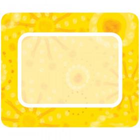 Lemon Lime Name Tags - Yellow