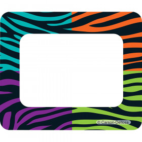 Wild Style Name Tags - Multicolored
