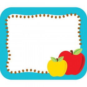 Apples Nametags, Gr PK - 5
