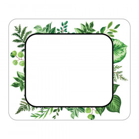 Simply Boho Leaves Name Tags, Pack of 40