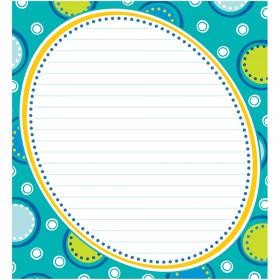 Bubbly Blues Notepad