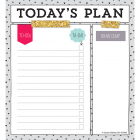 Todays Plan Notepad
