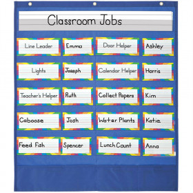 Classroom Helpers Pocket Chart