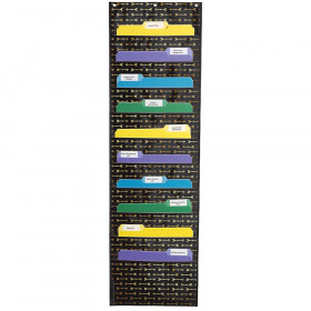 Storage: Gold Arrows Pocket Chart