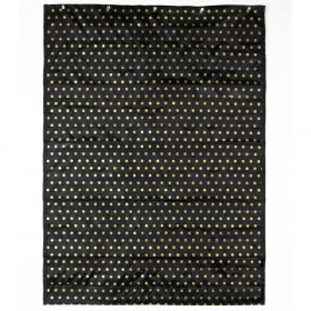 Essential Pocket Chart Gold Polka Dot