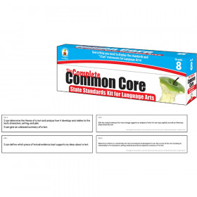The Complete Common Core State Standards Kit for Language Arts, Grade 8