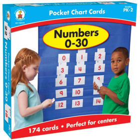 Numbers 0-30 Pocket Charts Gr Pk-2