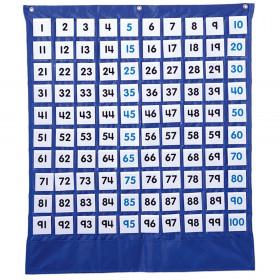 Deluxe Hundred Board Pocket Chart