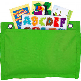 Magnetic Board Buddies: Lime Pocket Chart Pocket Chart