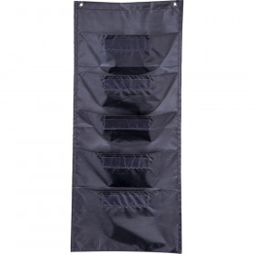 File Folder Storage: Black Pocket Chart