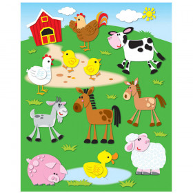 Farm Shape Stickers