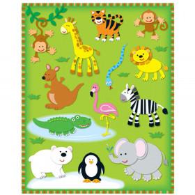 Zoo Shape Stickers