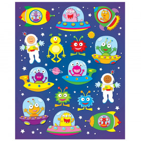 Out of this World Shape Stickers