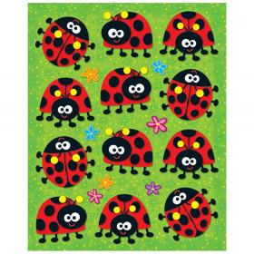 Ladybugs Shape Stickers