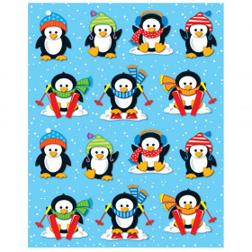 Penguins Shape Stickers, 84 Stickers