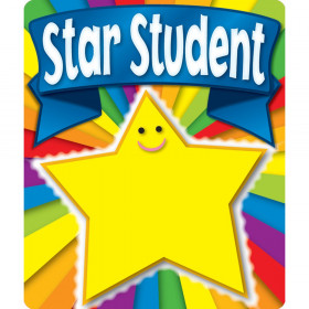 Star Student Motivational Stickers, 24 Stickers