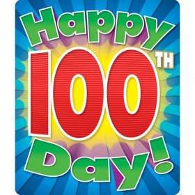 Happy 100th Day Motivational Stickers