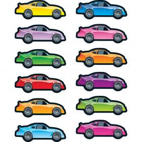 Race Cars Stickers - Shape