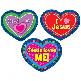 Jesus Loves Me! Shape Stickers