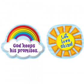 Let Love Shine Shape Stickers