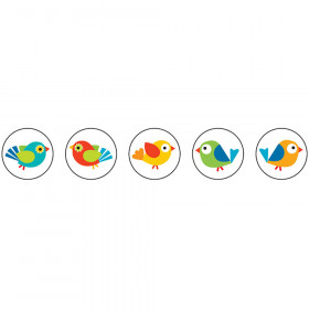 Boho Birds Chart Seals
