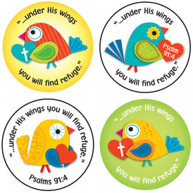 Under His Wings Stickers