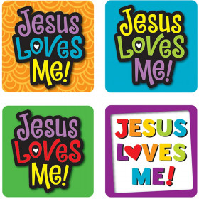 Jesus Loves Me! Sticker Pack