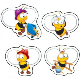 BuzzWorthy Bees Shape Stickers