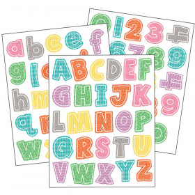 Up and Away Letters and Numbers Sticker Pack