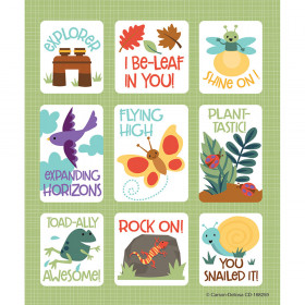 Nature Explorers Prize Pk Stickers