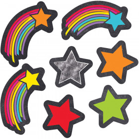 Stars Starbursts Shape Stickers School Girl Style