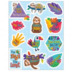 One World Motivators Motivational Stickers, 72 Pieces