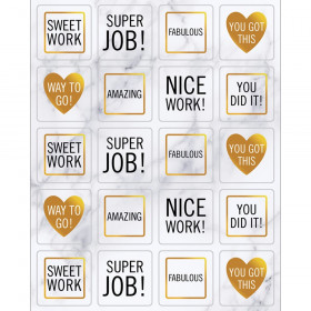 Simply Boho Motivators Shape Stickers, Pack of 120