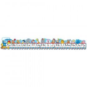 Traditional Manuscript Alphabet Train Bulletin Board Set