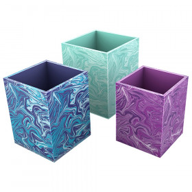 Galaxy Pencil Cups Desk Collection, Set of 3