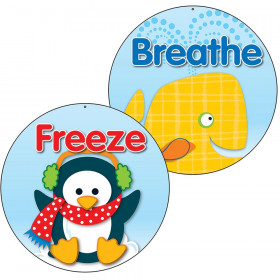Freeze And Breathe Two Sided Decorations